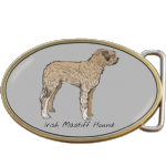 Irish Mastiff Hound Dog Belt Buckle. Code A0041